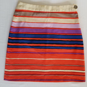 The Limited Striped Mini Skirt